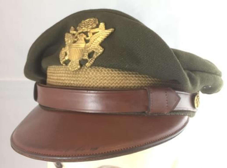 Original USAAF Officers '50 Missions' Crusher Cap