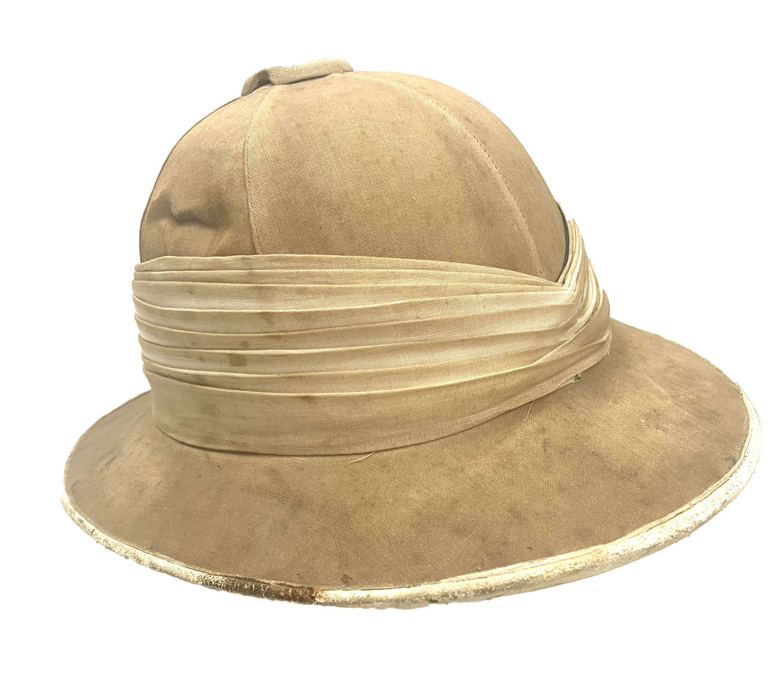 Original Inter-War British 'Eclipse Sunproof Helmet' Pith Helmet