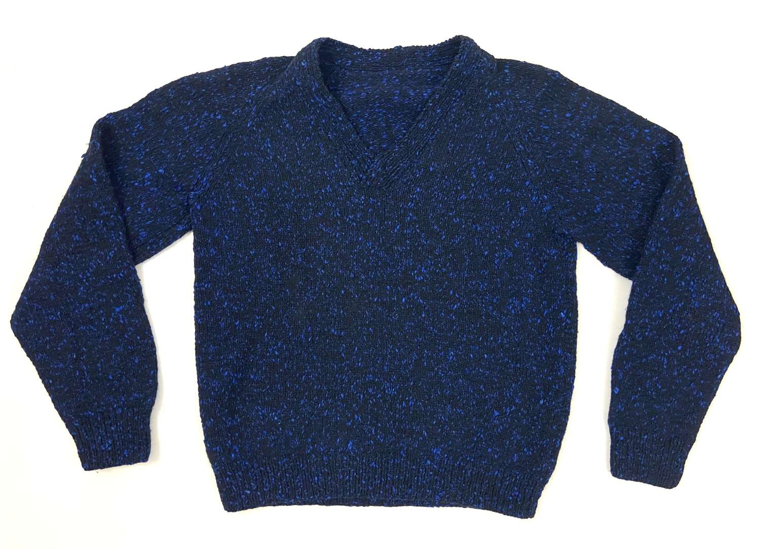 Original 1950s Men's Atomic Fleck V-Neck Jumper
