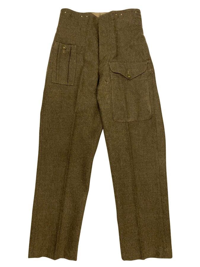 Original 1947 Dated 1946 Pattern British Army Battledress Trousers