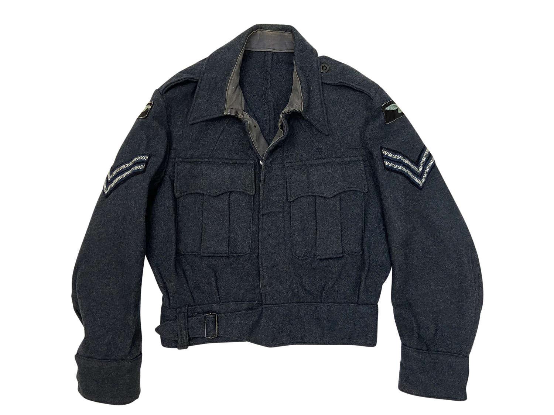 Original 1945 Dated RAF War Service Dress Blouse