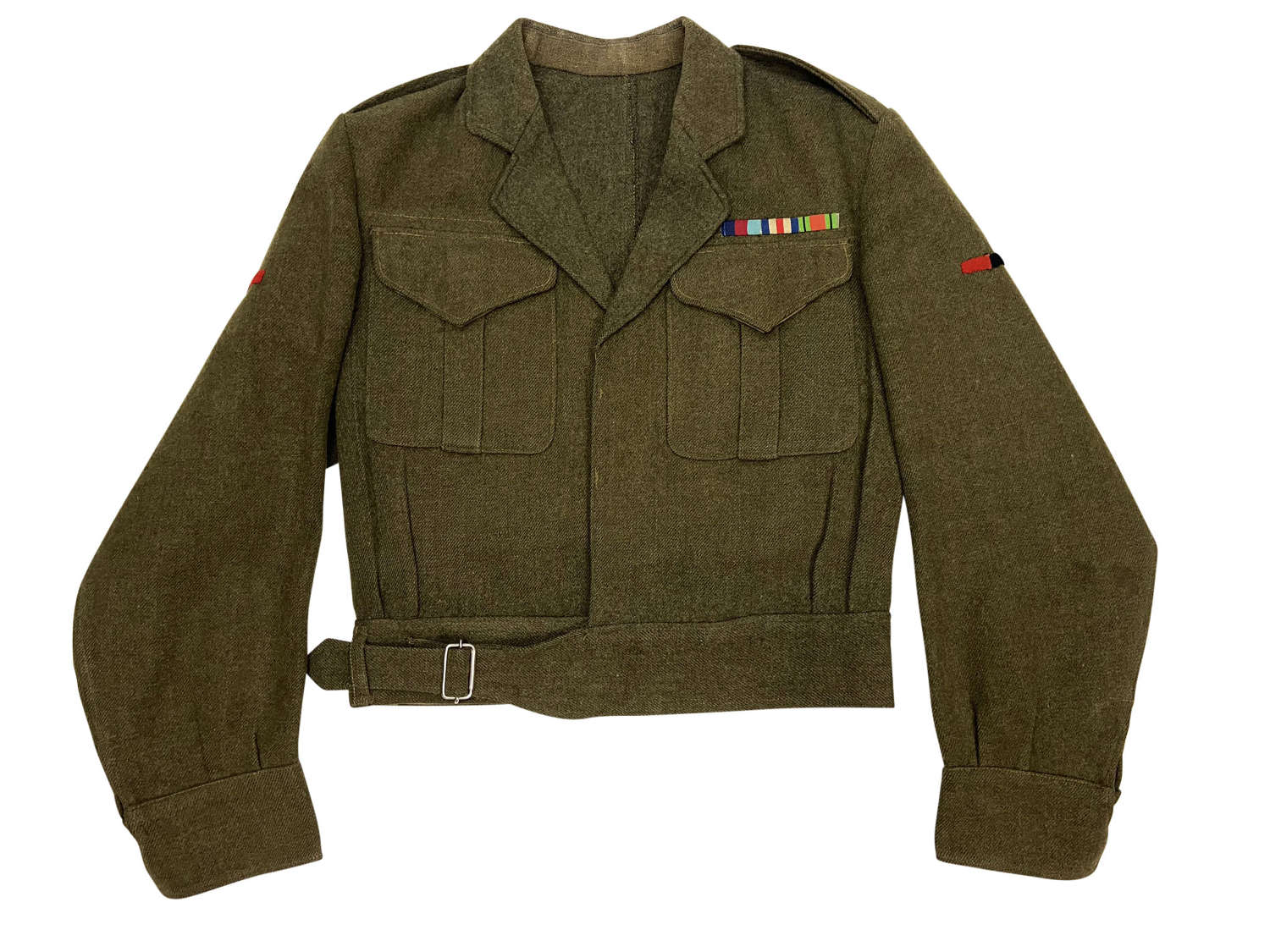 Original 1944 Dated Canadian Battledress Blouse with RA Insignia