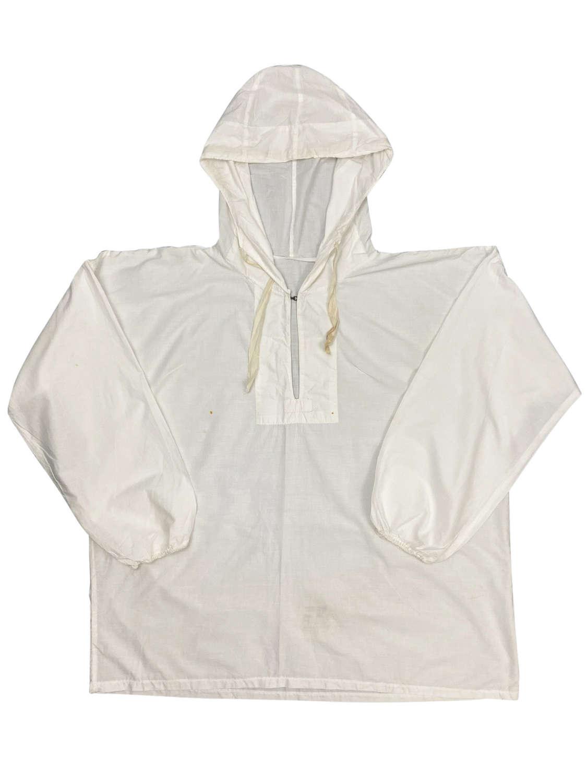 Original 1943 Dated British 'Smock White Camouflage' Jacket + Trousers
