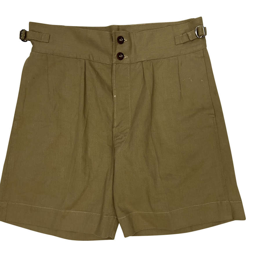 Original 1943 Dated RAAF Khaki Drill Shorts