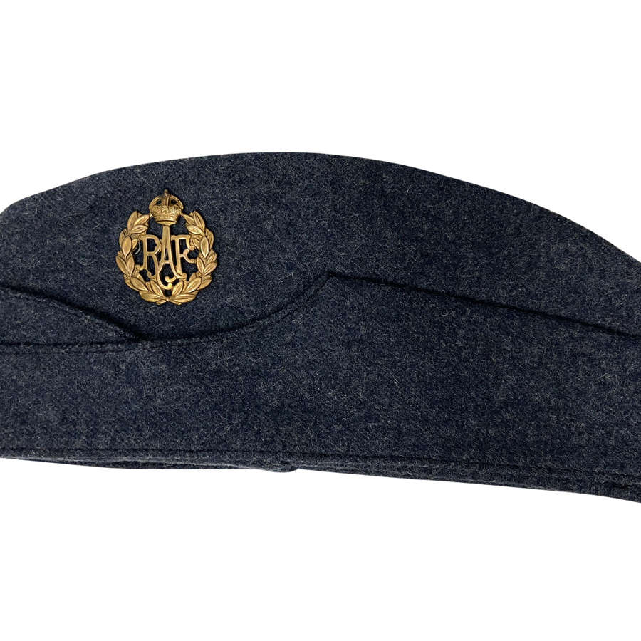 Original 1945 Dated RAF Ordinary Airman's Forage Cap - Size 6 7/8