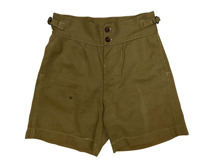 Original 1944 Dated RAAF Khaki Drill Shorts - Size 1