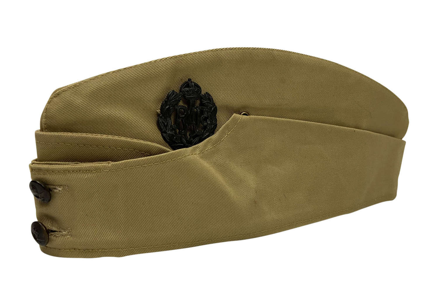 Scarce WW2 Canadian Made RAF Khaki Drill Forage Cap