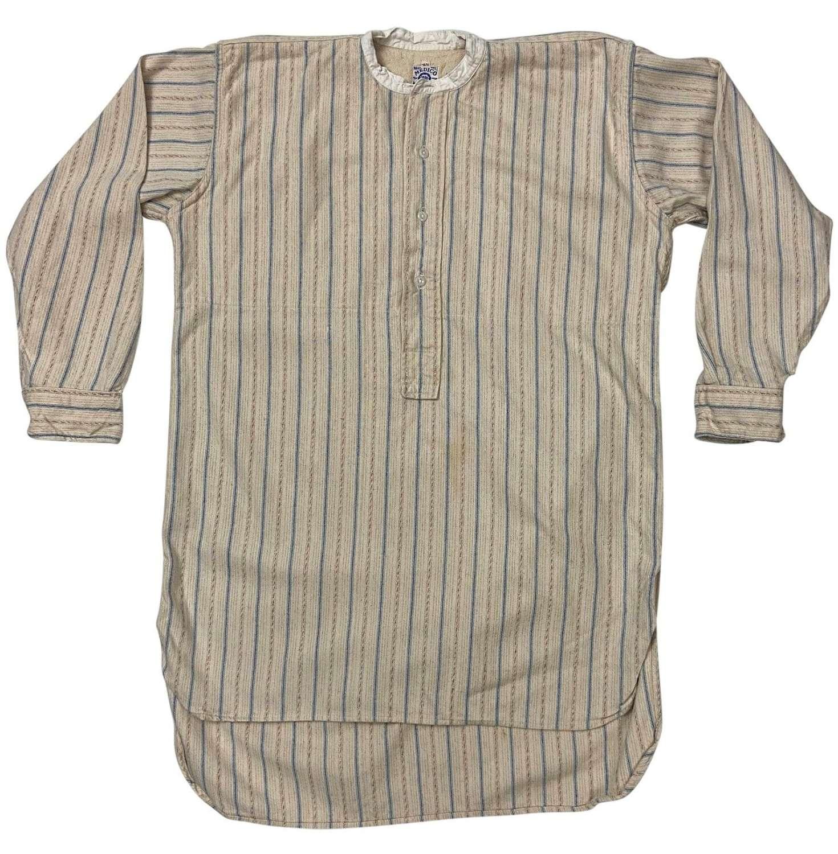 Original 1930s Striped Flannel Stripe by 'Medico'