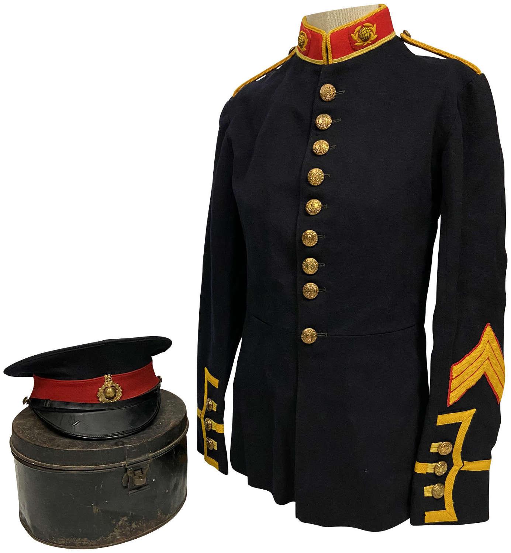 Original WW1 Royal Marine Zeebrugge Veteran Uniform Grouping