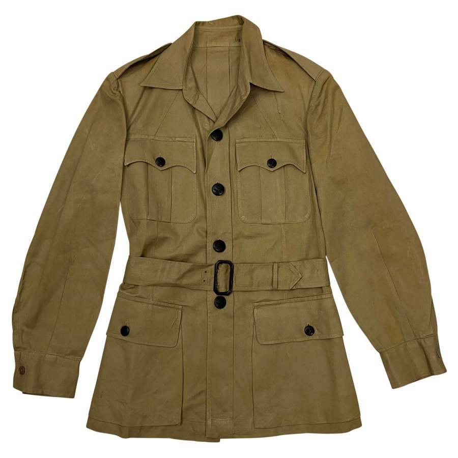 Original 1940s RAF Officers Khaki Drill Bush Jacket