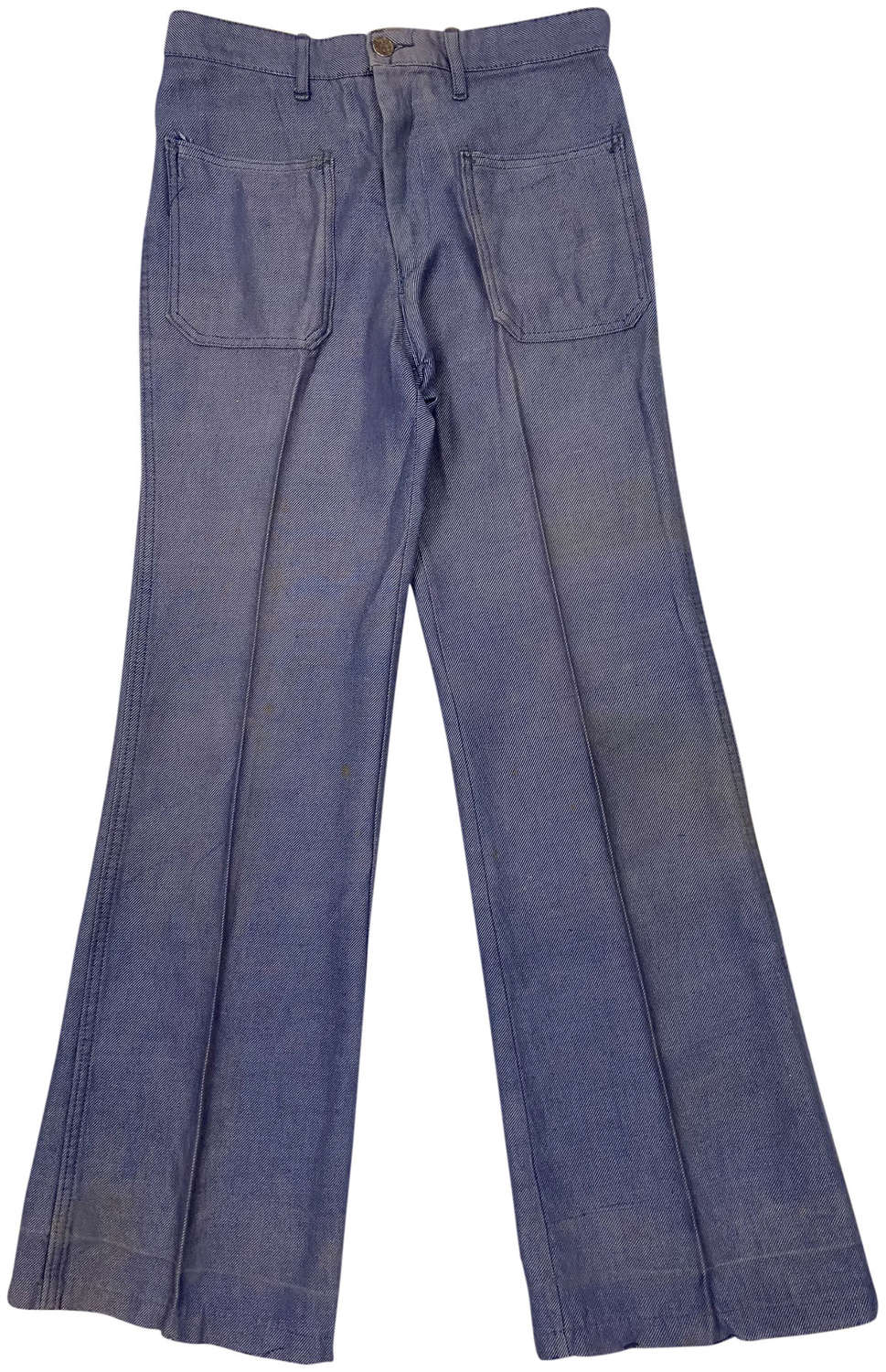 Original 1970s French Women's Flared Jeans