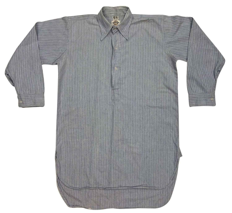 Original 1940s CC41 Collared Shirt by 'Stamana'