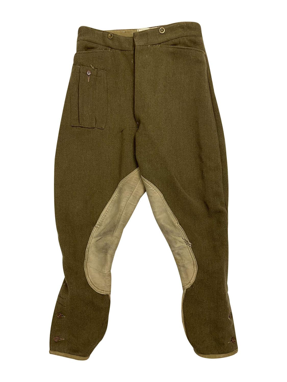 Original 1942 Dated British Army Dispatch Riders Breeches