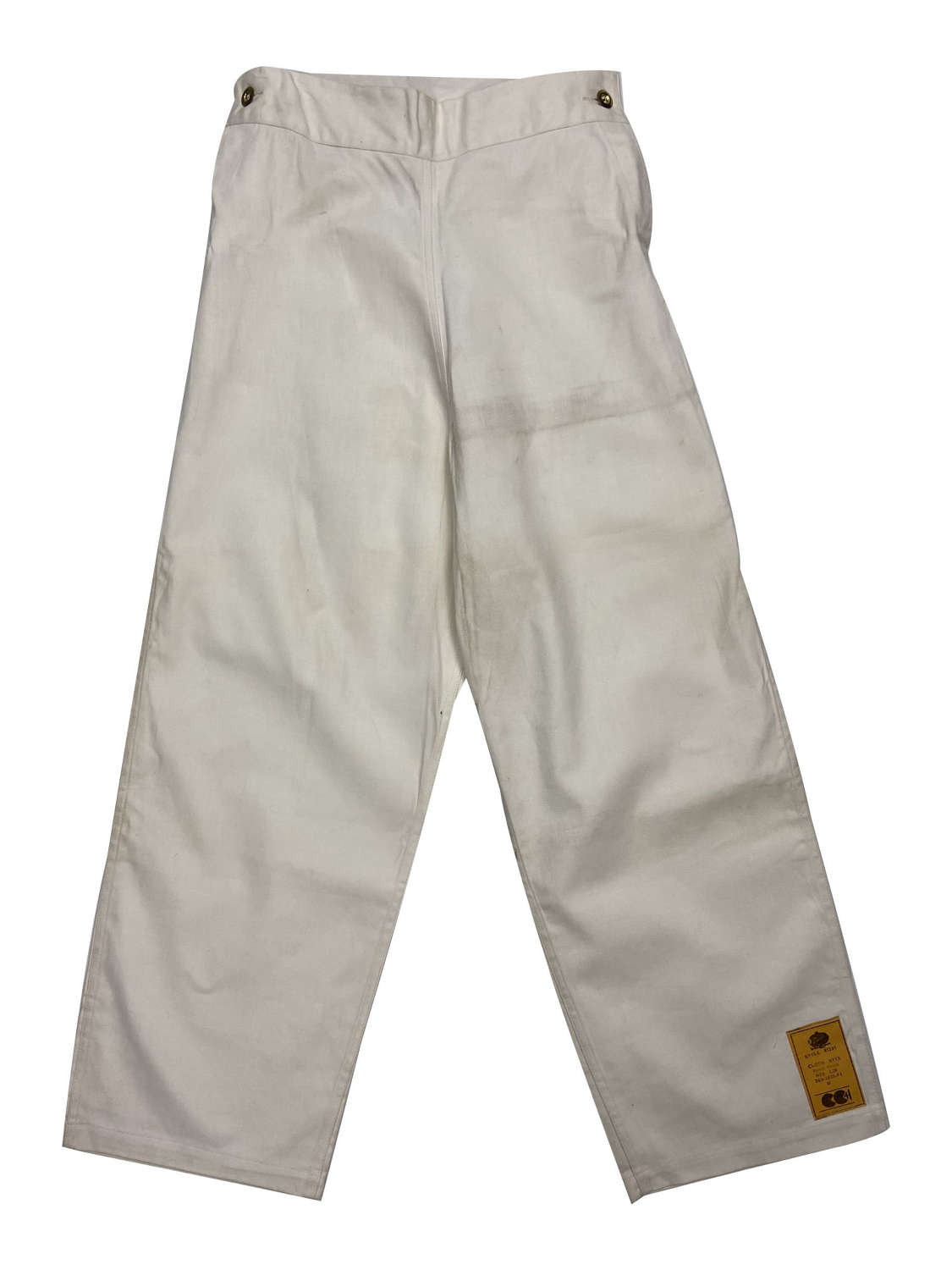 Original CC41 Royal Navy Cotton Drill Work Trousers by 'Digby Morton'