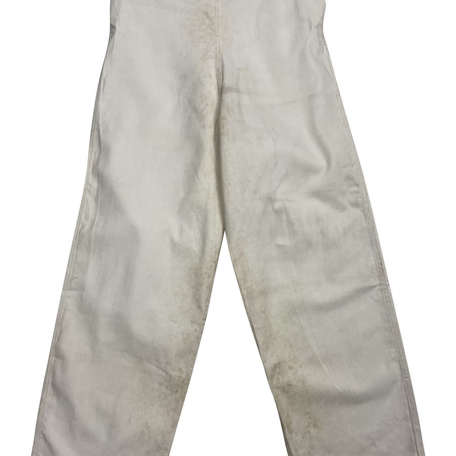 Original CC41 Royal Navy Cotton Drill Work Trousers by 'Digby Morton'2