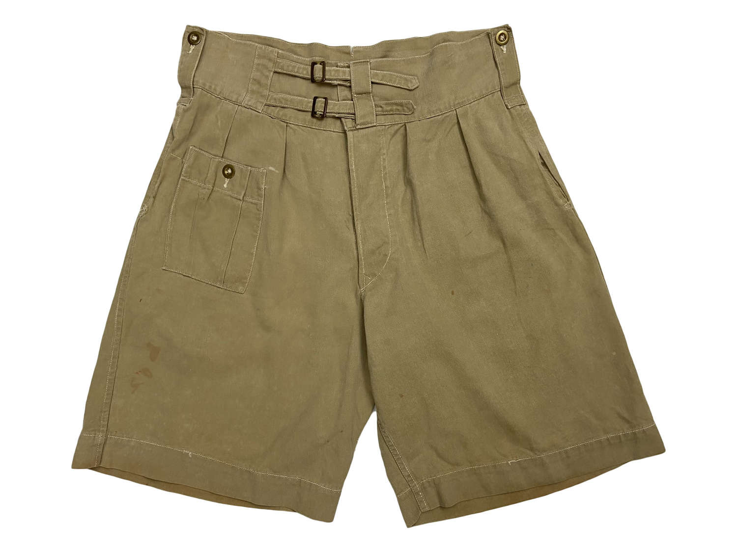 Original 1943 Dated 1941 Pattern British Khaki Drill Shorts