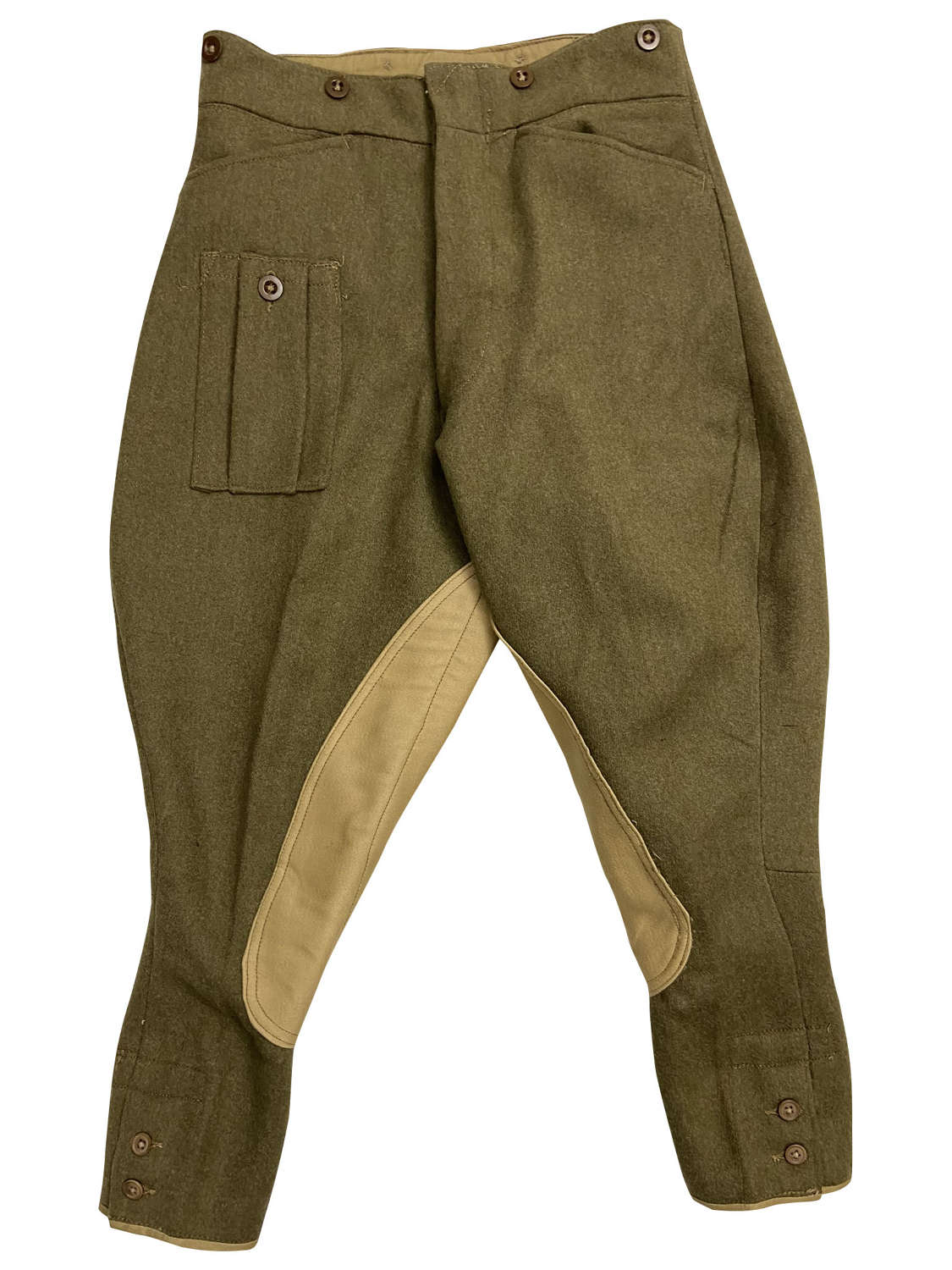 Original 1944 Dated British Army Dispatch Riders Breeches - Size 3