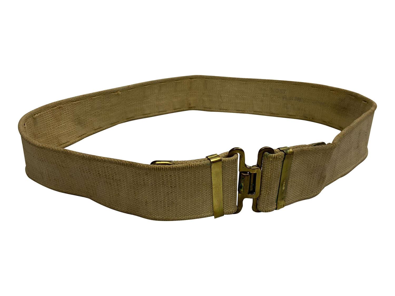 Original WW2 1937 Pattern Webbing Belt to Lt Col Heveringham