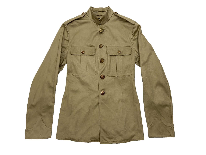 Post WW2 British Army Khaki Drill Tunic