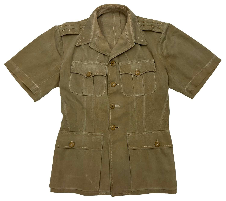Original 1940s British Army Khaki Drill Tunic