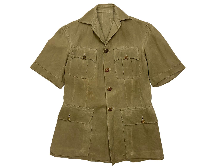 Original 1940s RAF Officers Khaki Drill Bush Jacket
