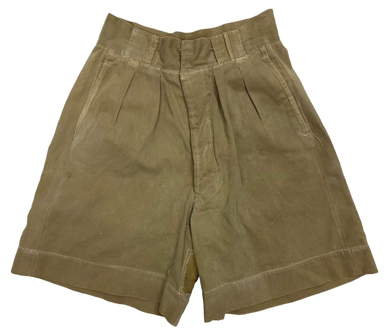 Original WW2 1941 Pattern British Khaki Drill Shorts