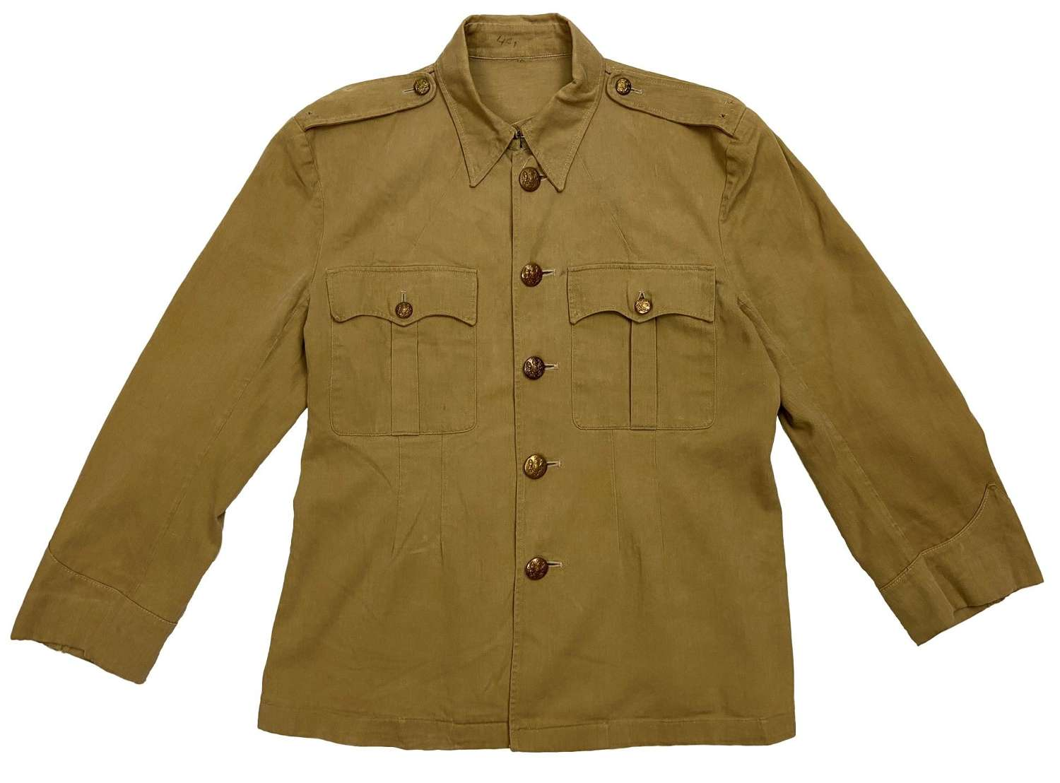 Original British Army Khaki Drill Tunic