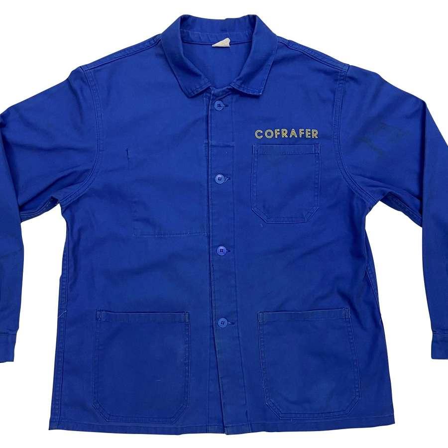 Original 1980s French Chore Jacket 'Cofrafer'