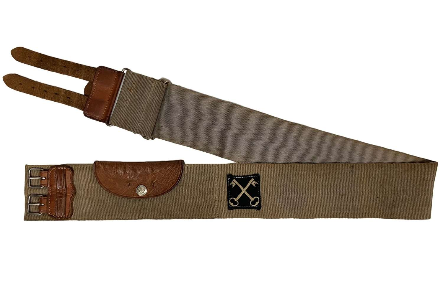 Original Early 1950s Trophy Belt with BAOR History