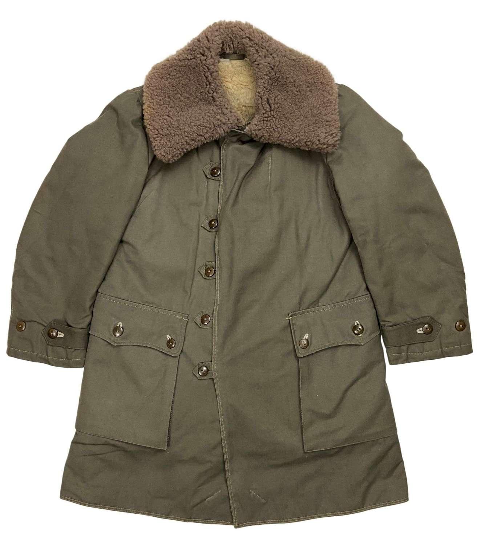 Original 1944 Dated Swedish M1909 Parka Overcoat