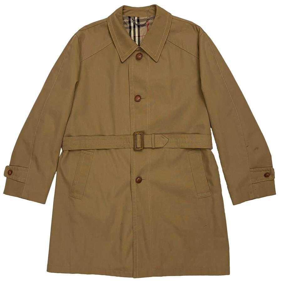 Original 1960s Men's Raincoat by 'Hepworths'