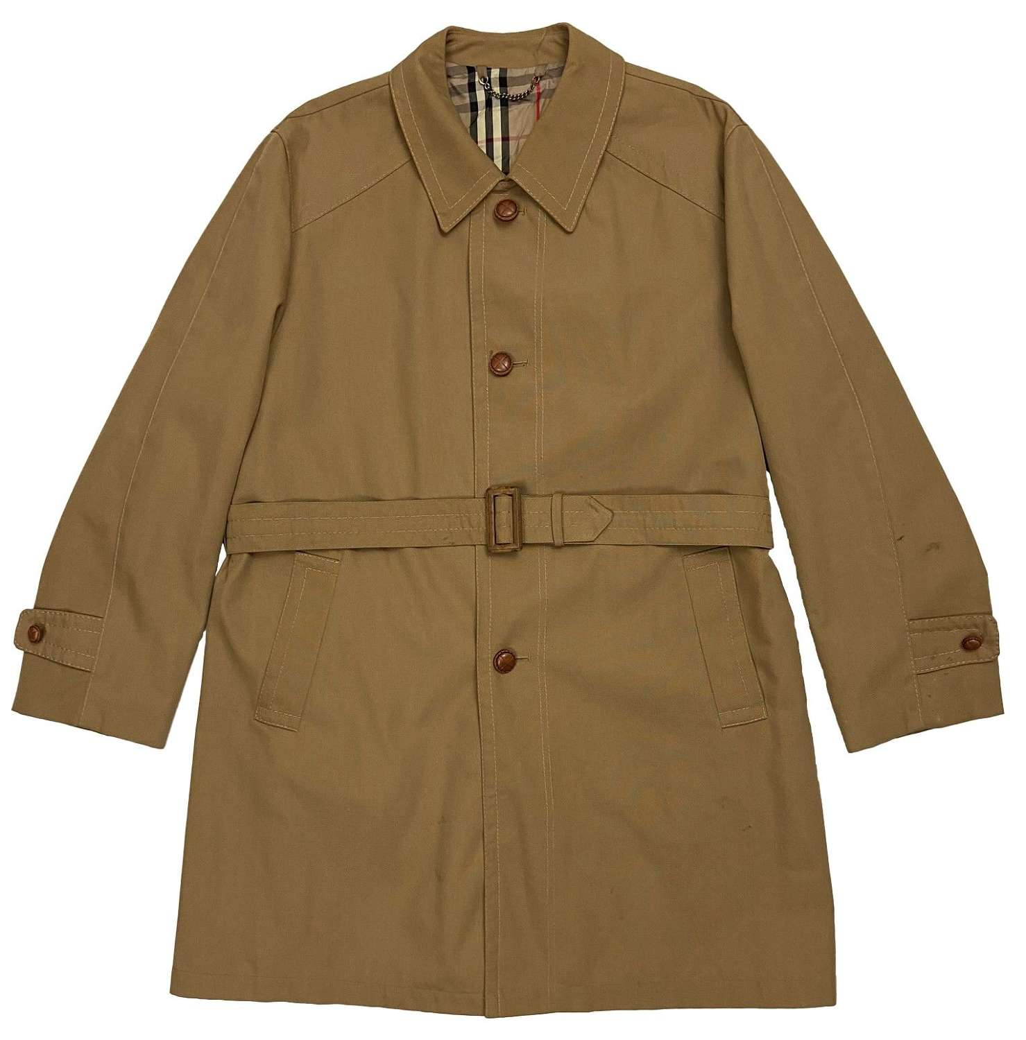 Original 1960s Men's Raincoat by 'Hepworths'