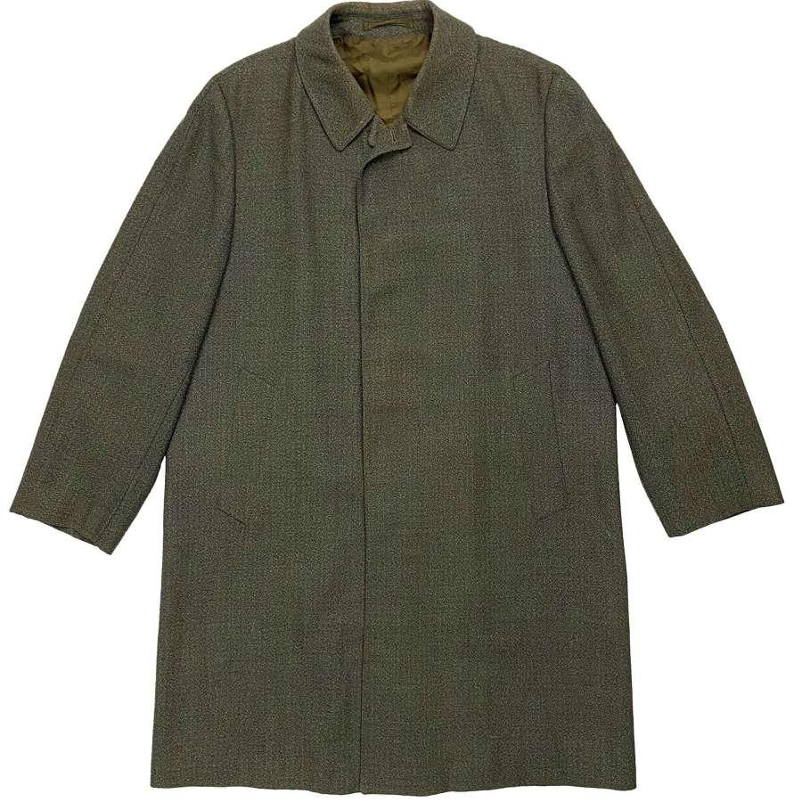 Original 1960s Men's British Raincoat by 'Burton'