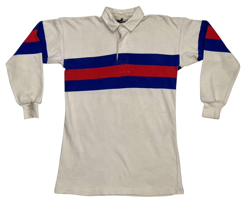 Original 1950s Bukta 'Super Scrum' Rugby Shirt