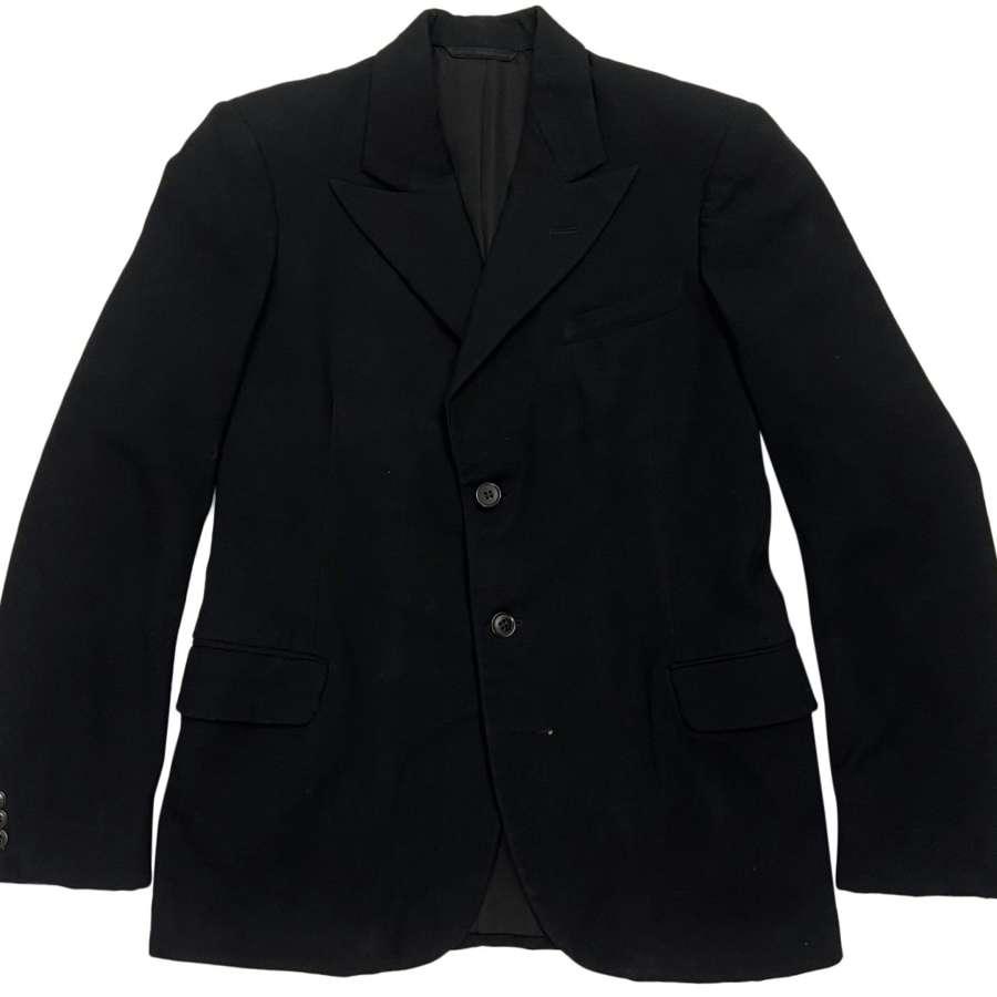 Original 1930s Black Two Button Jacket by 'Burton'