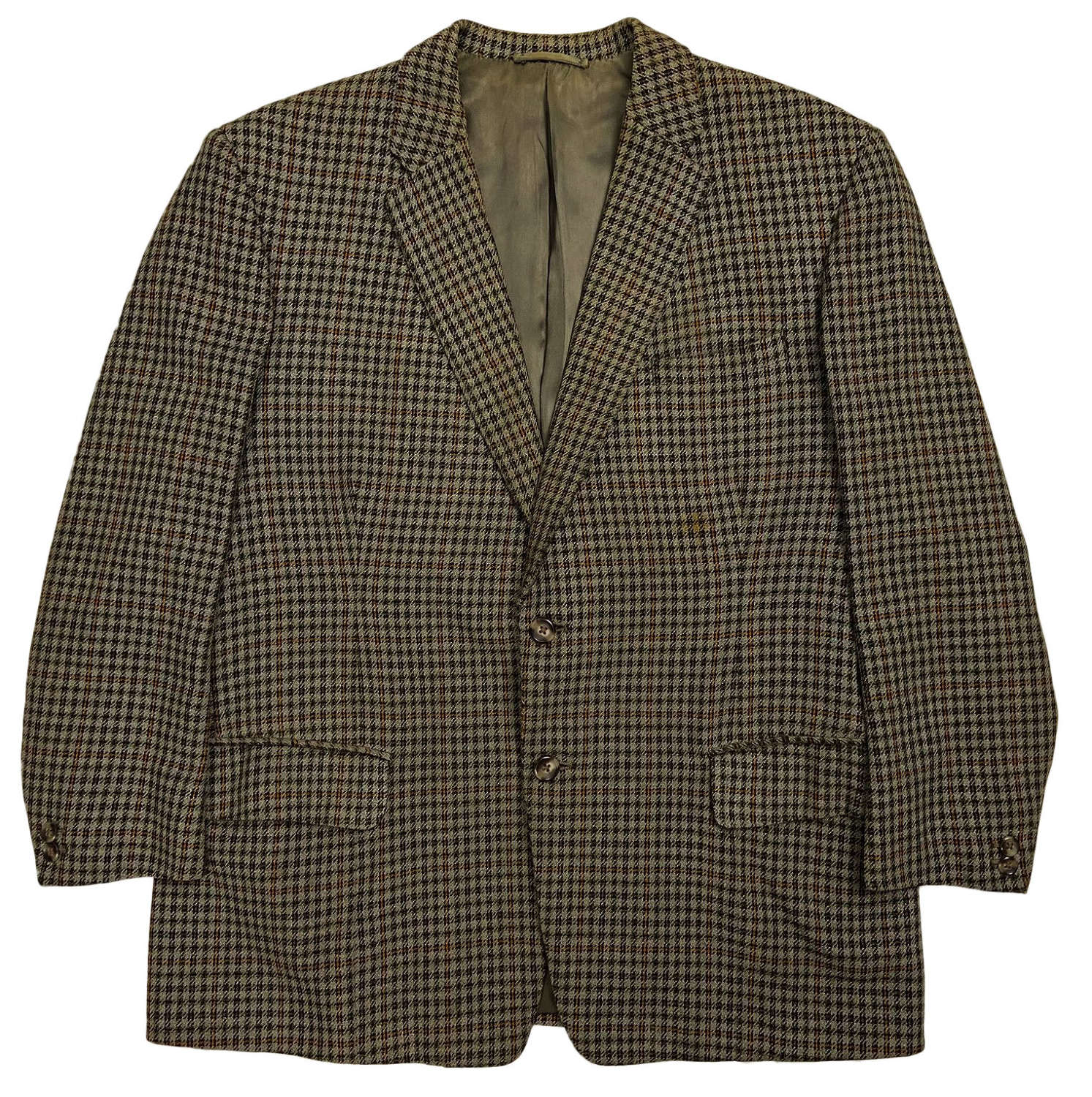 Original Early 1960s Men's Dogtooth Sports Jacket