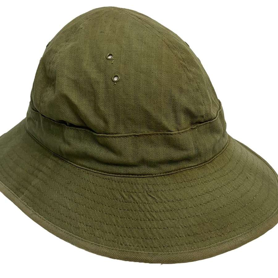 Original 1942 Dated US Army HBT 'Daisy Mae Hat' - Size 7 1/2