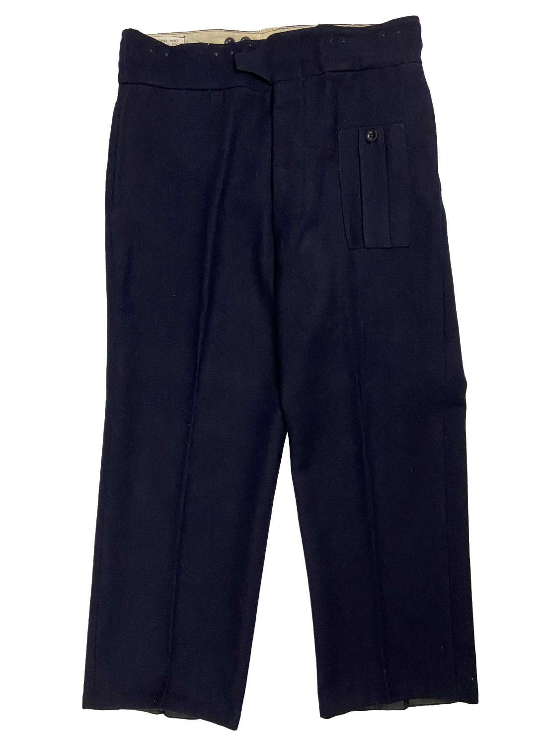 Original 1950s Civil Defence Battledress Trousers - Size 15