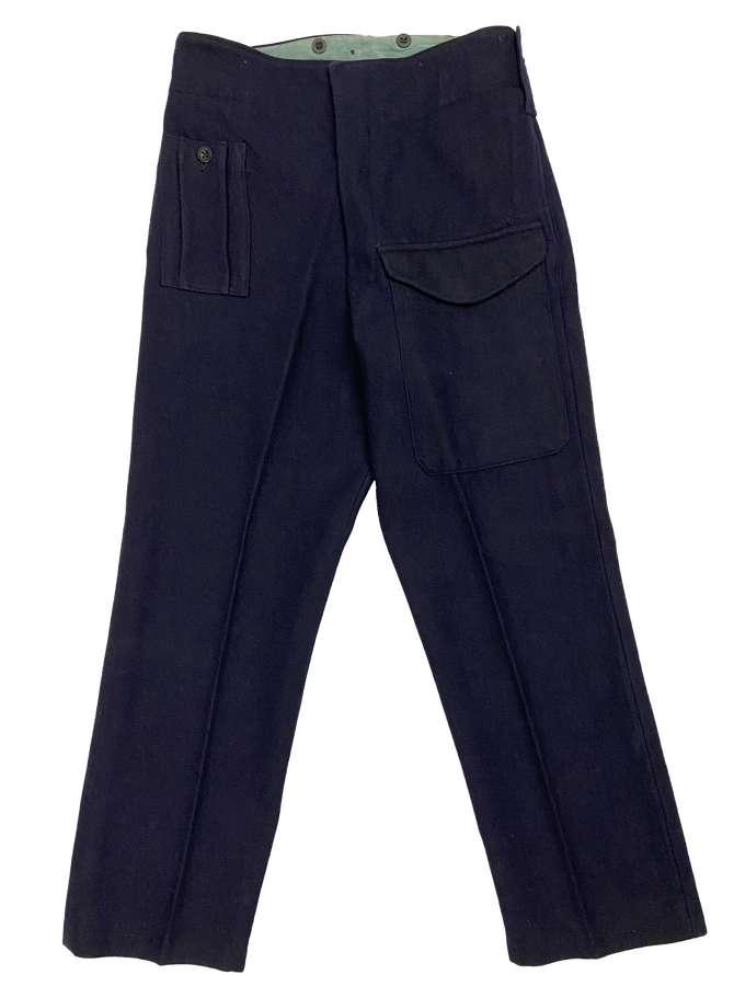 Original Civil Defence Battledress Trousers