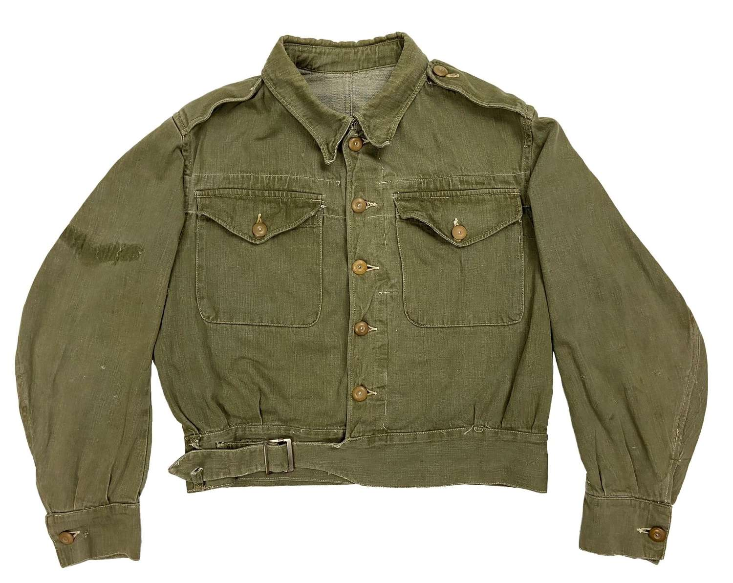 Original WW2 British Army Denim Battledress Blouse
