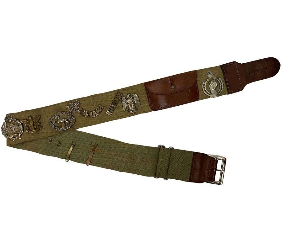 Original WW2 Period Trophy Belt
