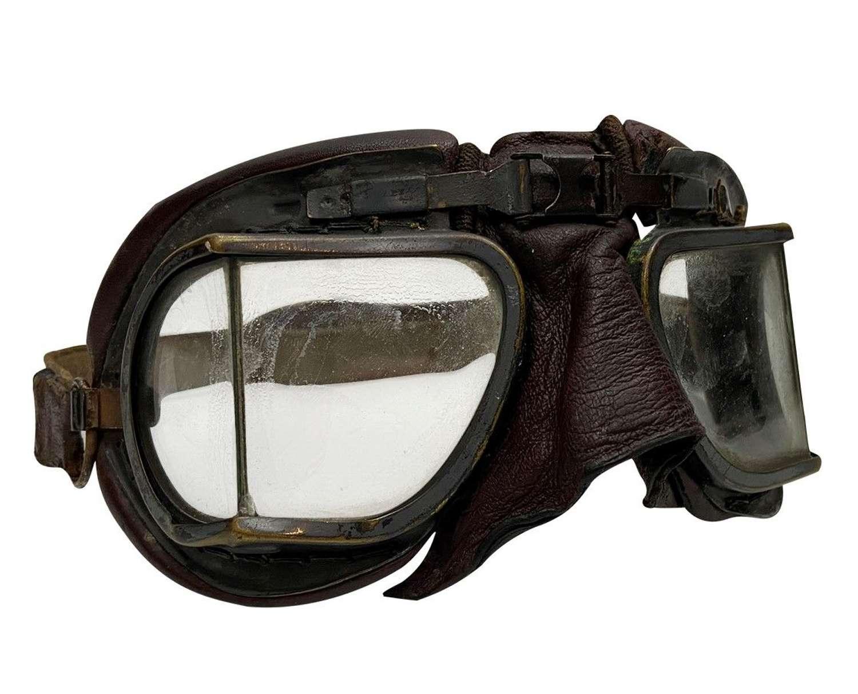 Original WW2 RAF MK VIII Flying Goggles