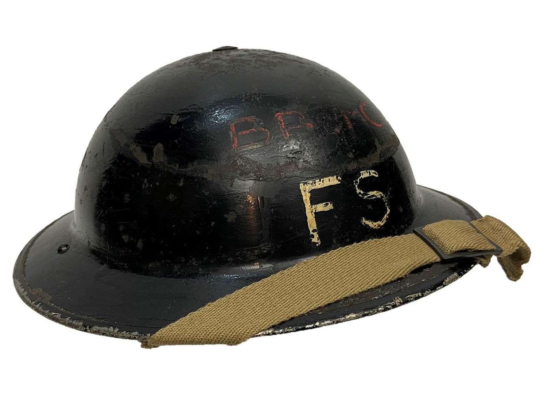 Original 1939 Dated Home Front MKII Steel Helmet