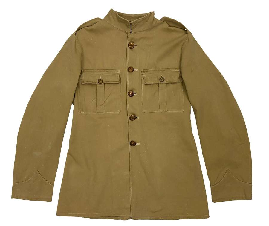 Original 1932 Dated Royal Marines Khaki Drill Tunic