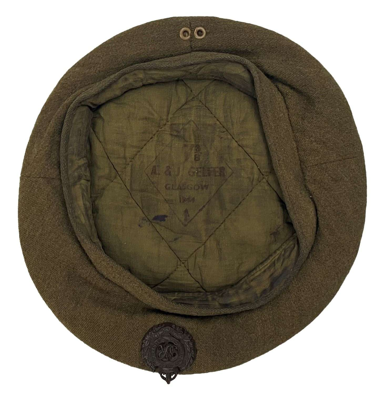 Original 1944 Dated British Army General Service Beret