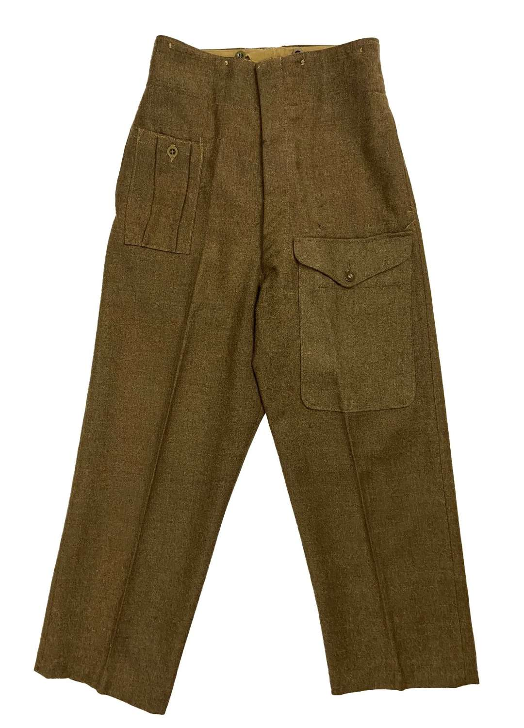 Original 1945 Dated 1940 Pattern (Austerity) Battledress Trousers - 10