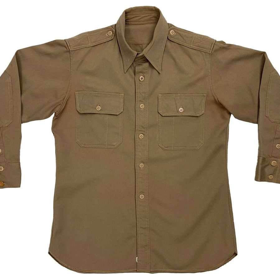 Original US Army Regulation Tan Shirt