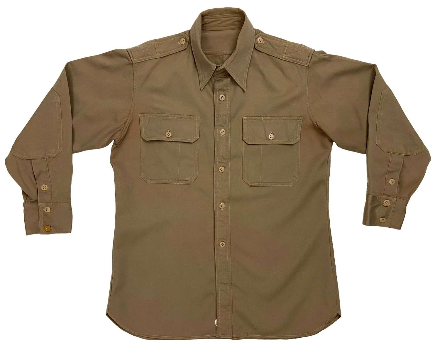 Original US Army Regulation Tan Shirt