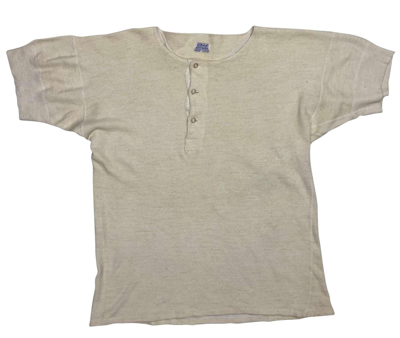 Original 1960s Men's Undershirt by 'St. Michael' - Size Large