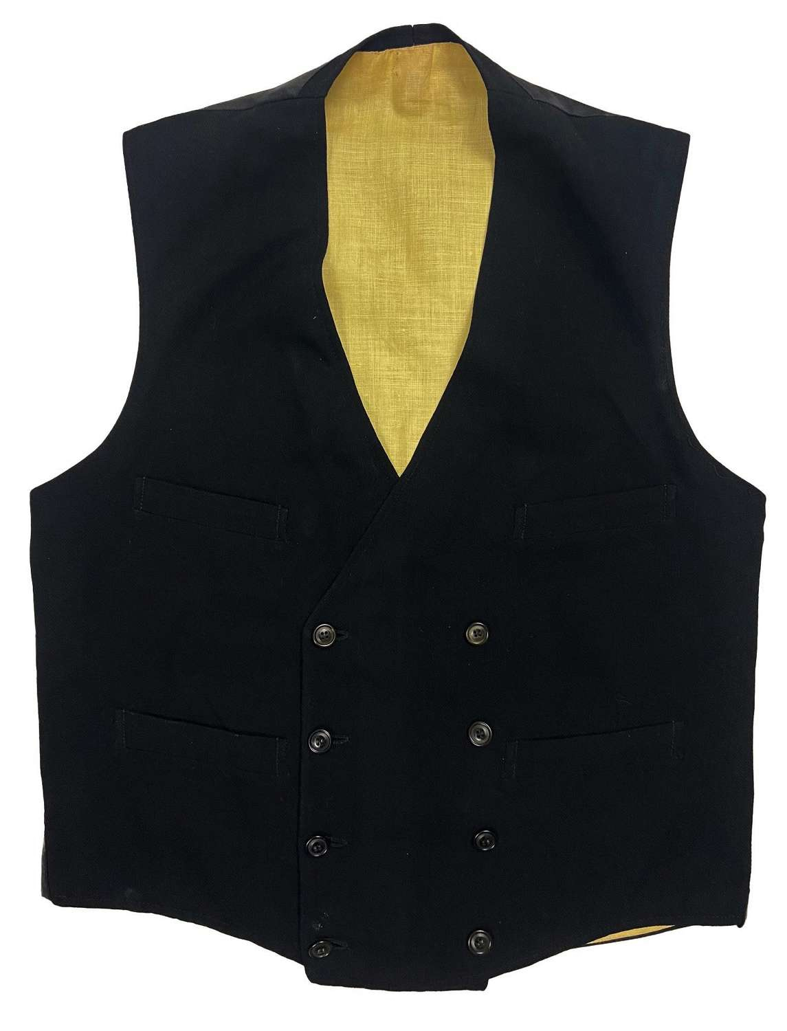 Original 1920s Double Breasted Waistcoat